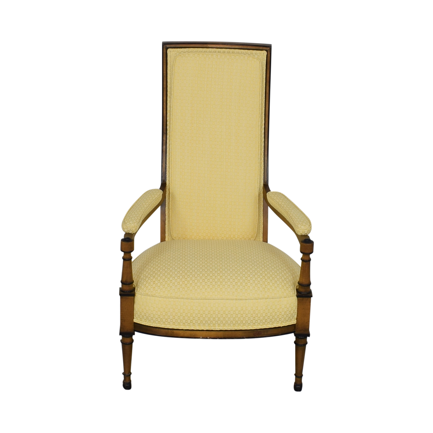 Fabulous 32 Off Upholstered High Back Chair Chairs Ibusinesslaw Wood Chair Design Ideas Ibusinesslaworg