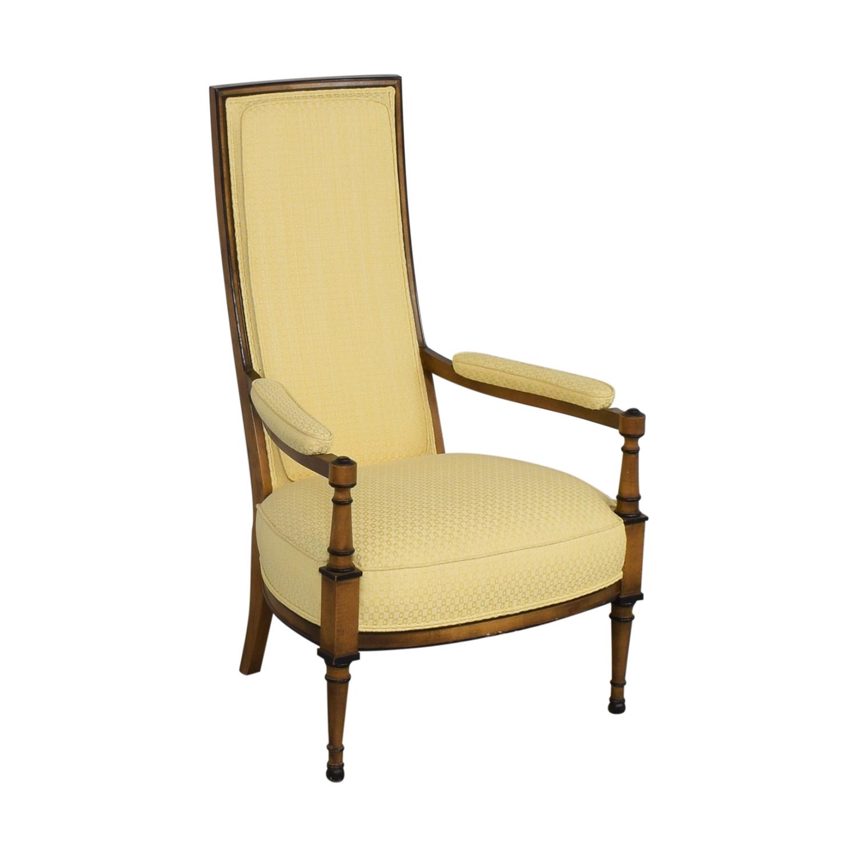 Upholstered High Back Chair nj
