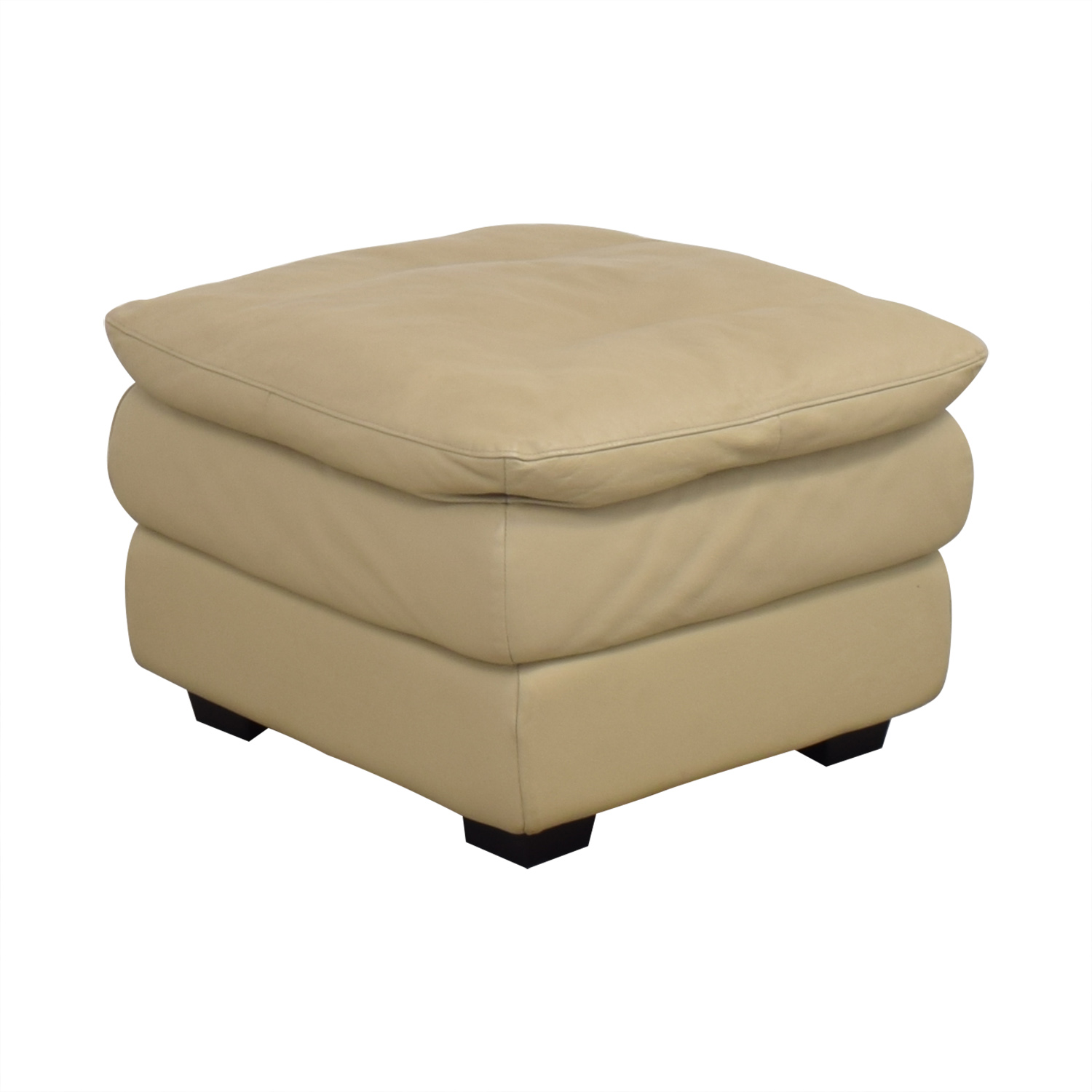Leather Ottoman Chairs