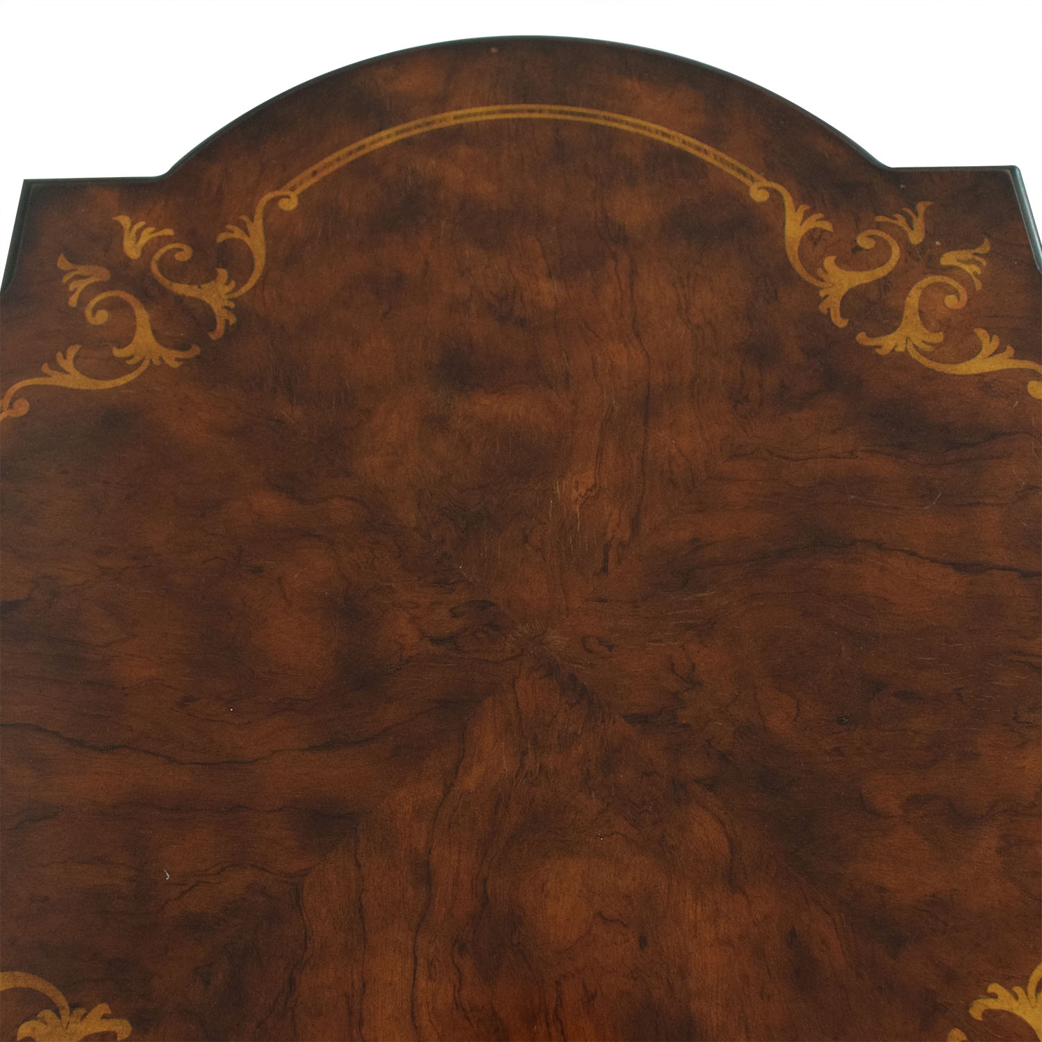 Ethan Allen Ethan Allen Marquetry Inlaid End Table for sale