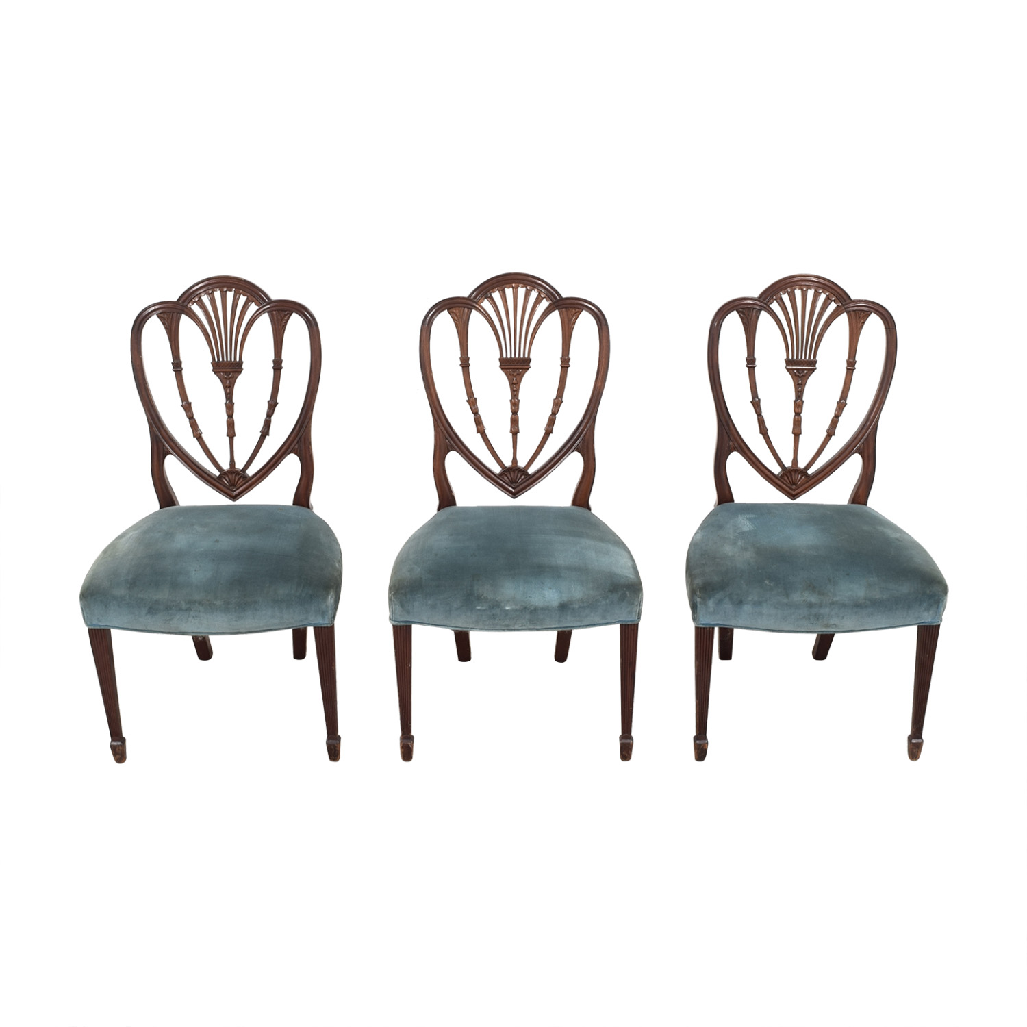 Vintage Decorative Dining Chairs pa