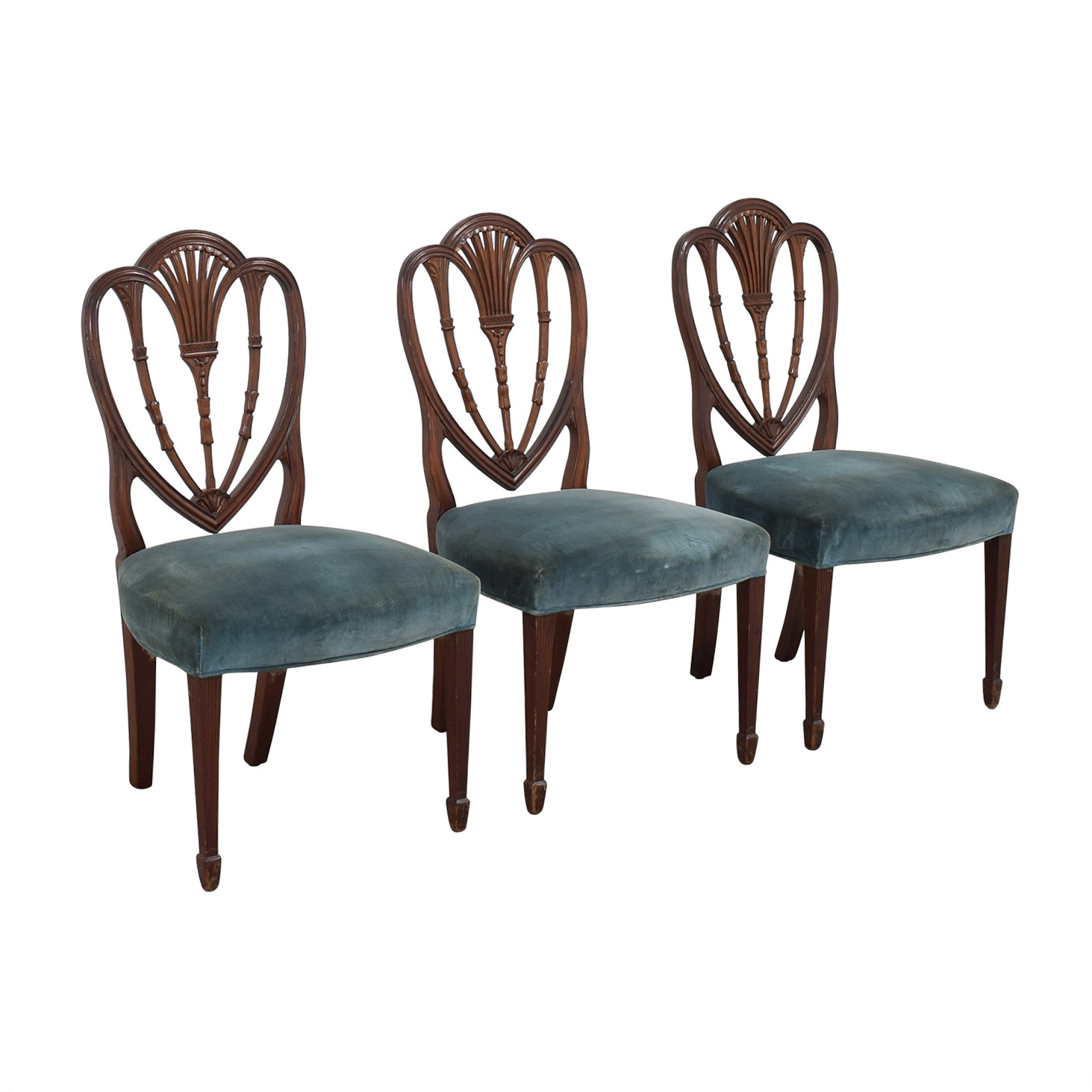 Vintage Decorative Dining Chairs dimensions
