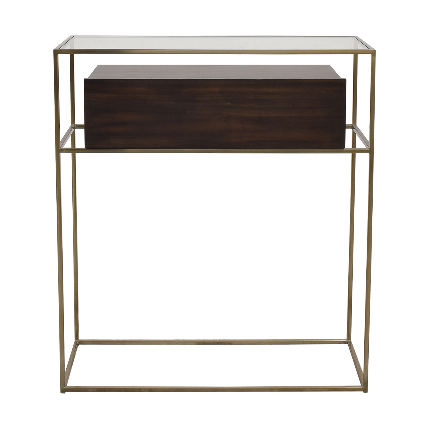CB2 CB2 Modern Storage Drawer Accent Tables