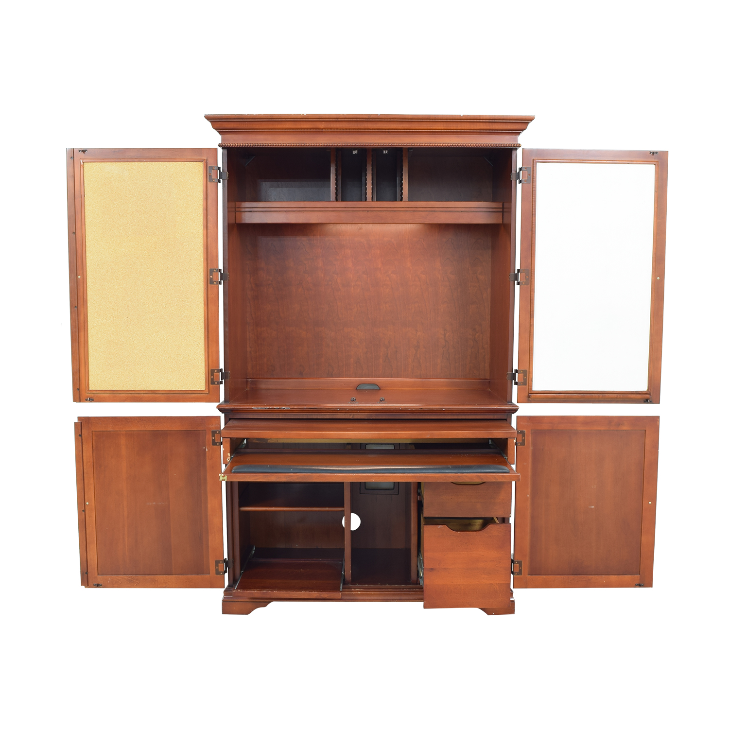 Armoire Desk Storage