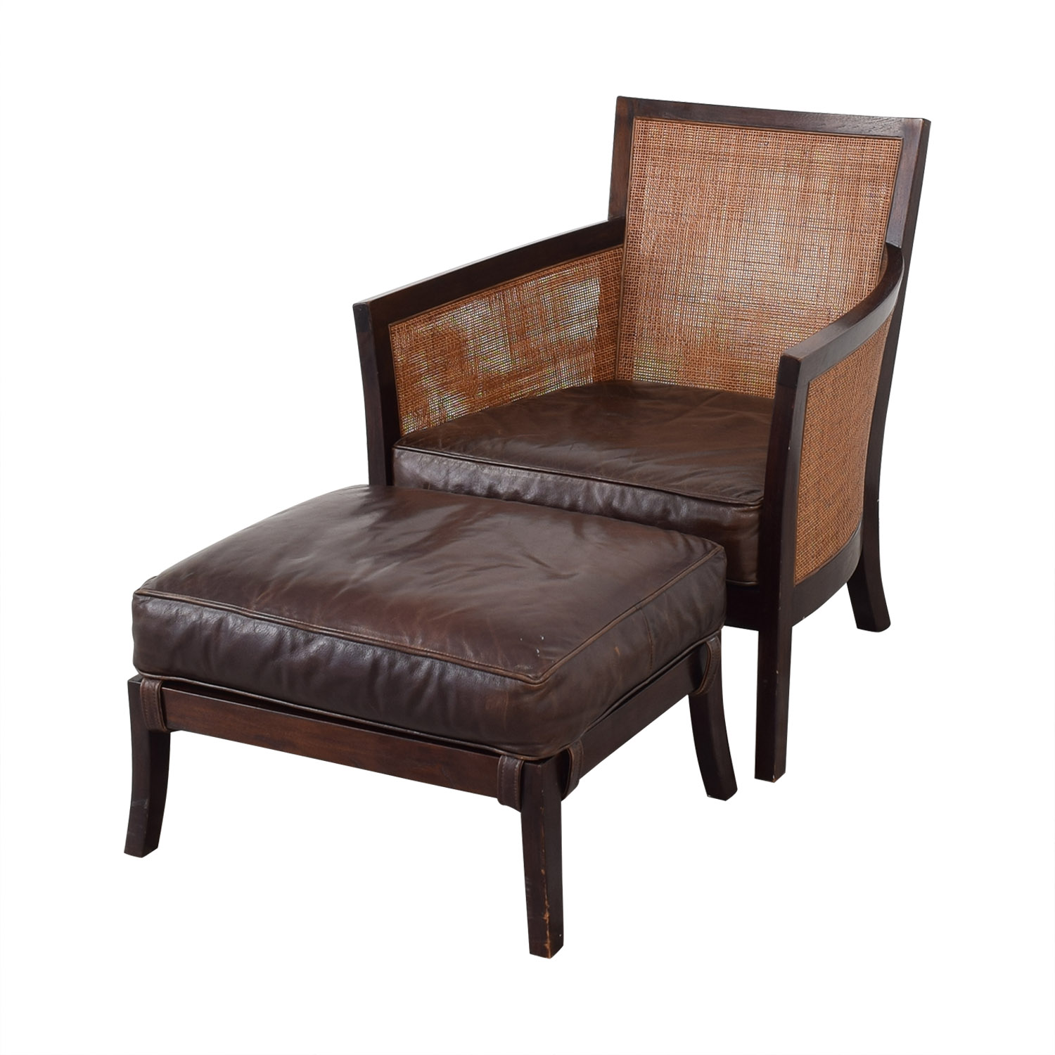 Pictures On Crate And Barrel Arm Chair And Ottoman