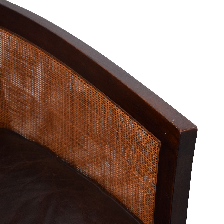 buy Crate & Barrel Crate & Barrel Blake Lounge Chair & Ottoman online