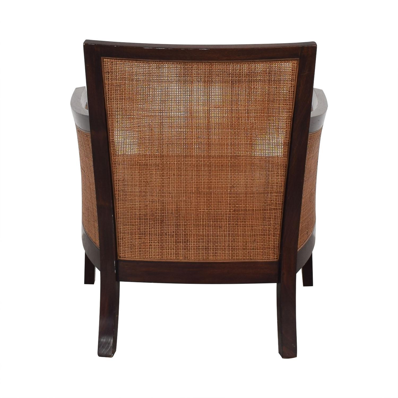 Crate & Barrel Crate & Barrel Blake Lounge Chair & Ottoman ct