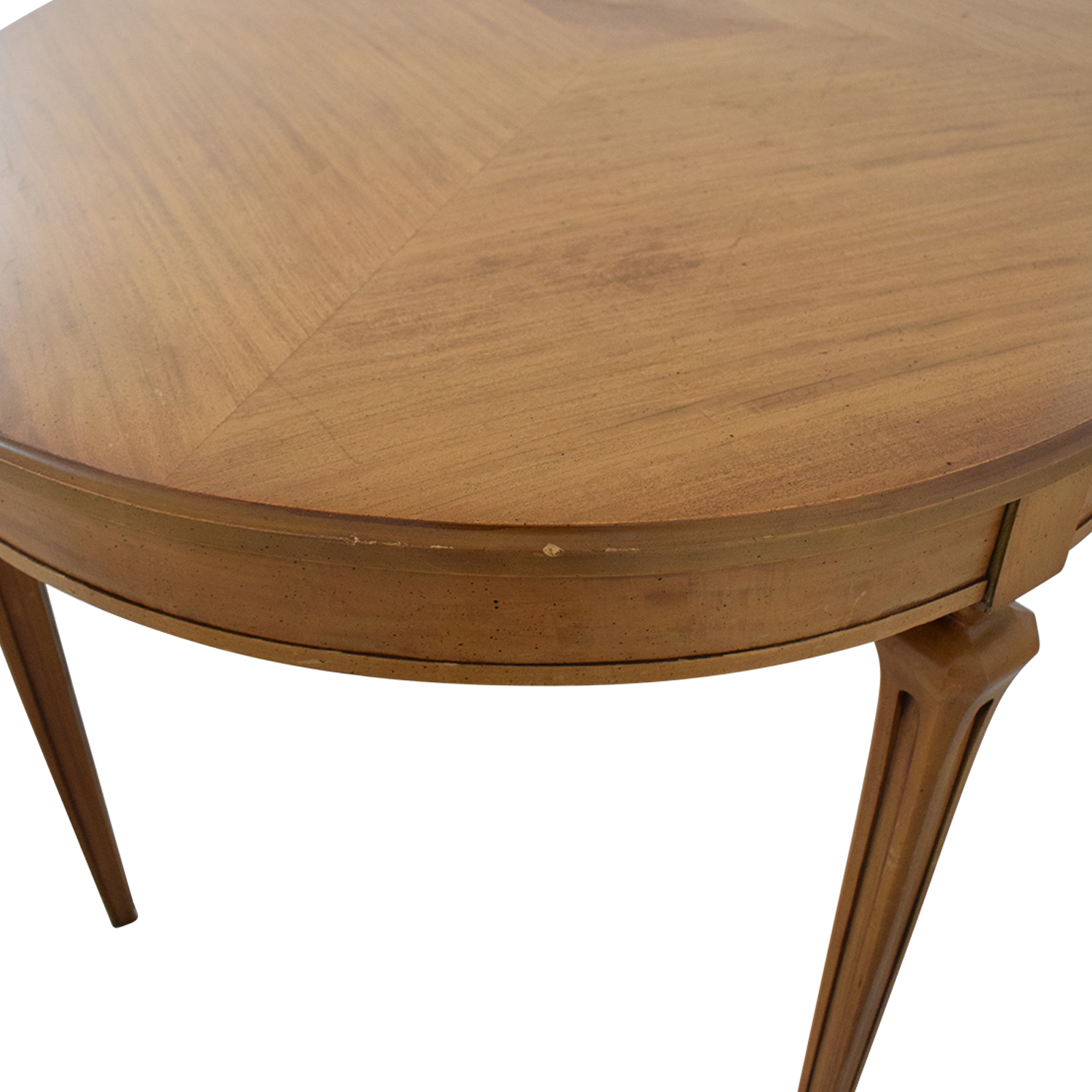 Extendable Oval Dining Table used