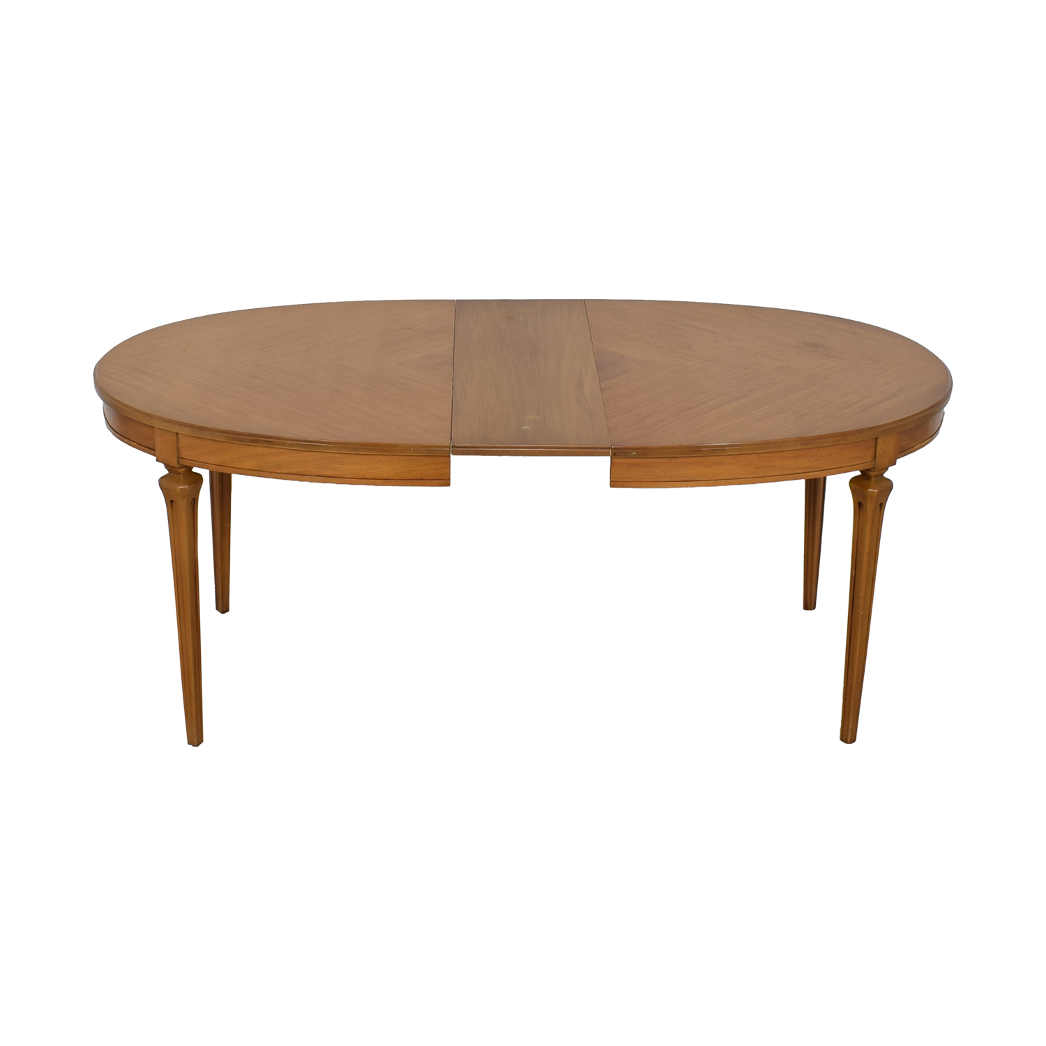 Extendable Oval Dining Table second hand