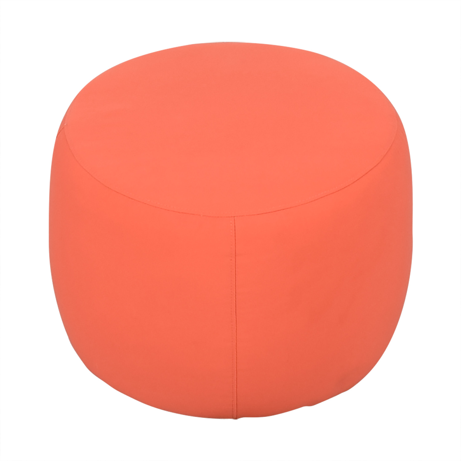 Crate & Barrel Pouf / Chairs