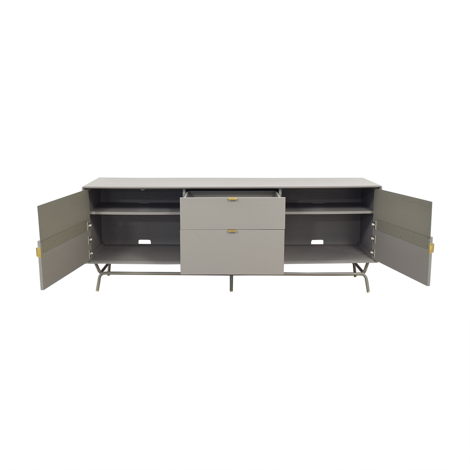 Blu Dot Dang 2 Door / 2 Drawer Console sale