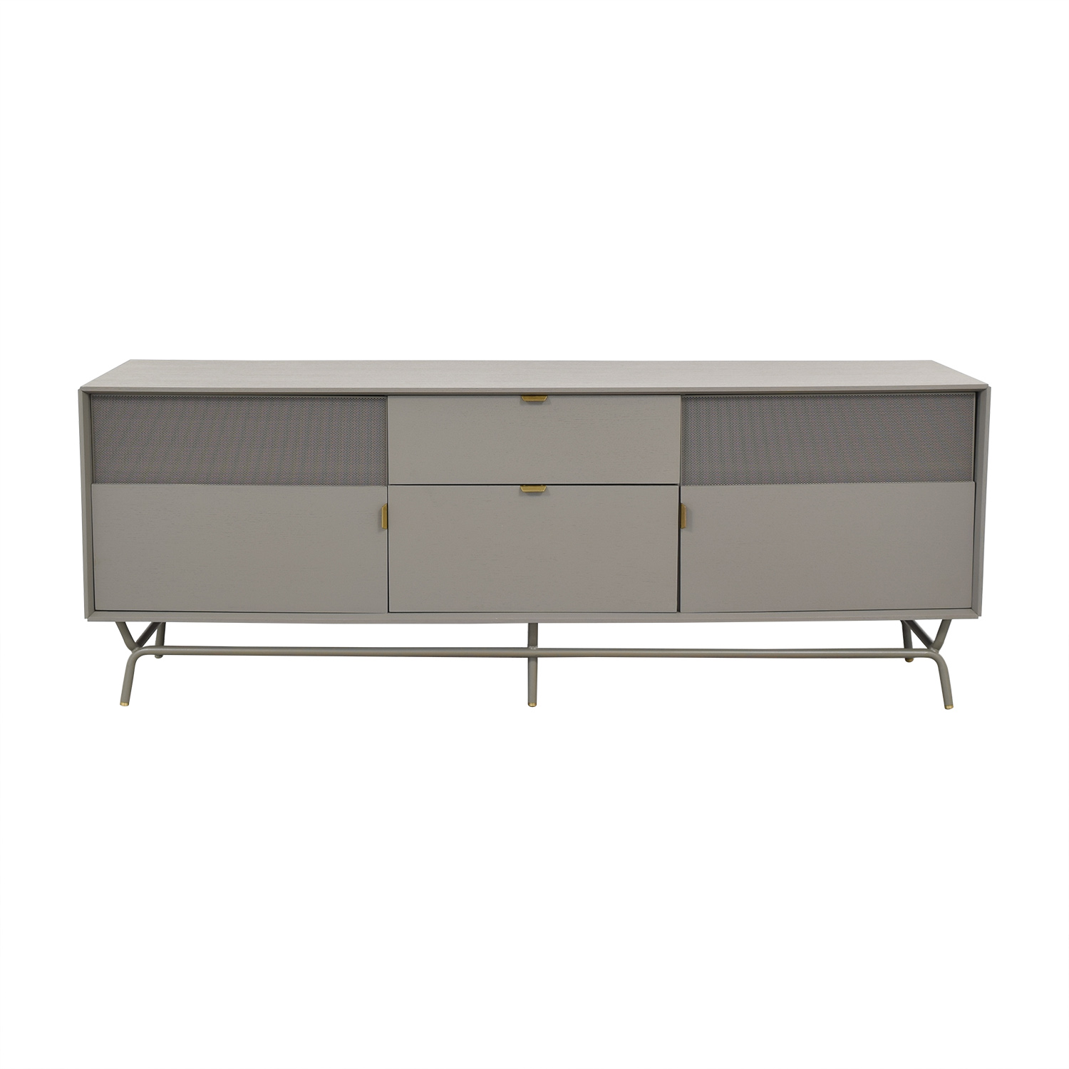 Blu Dot Blu Dot Dang 2 Door / 2 Drawer Console nyc