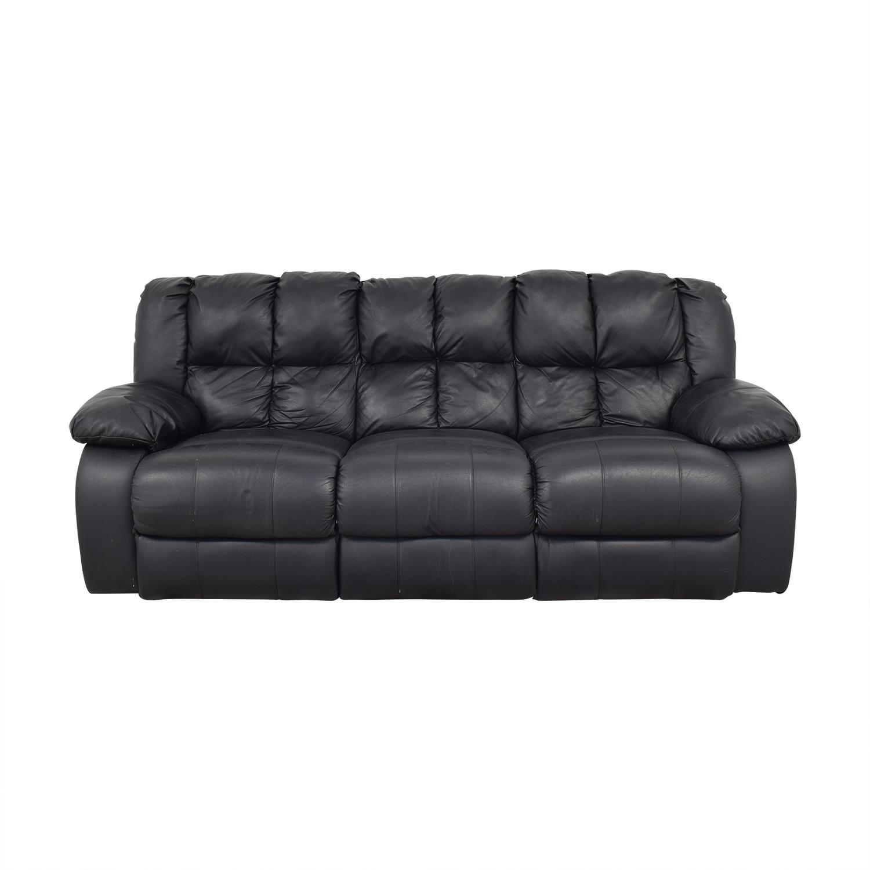 Reclining Three Cushion Sofa used