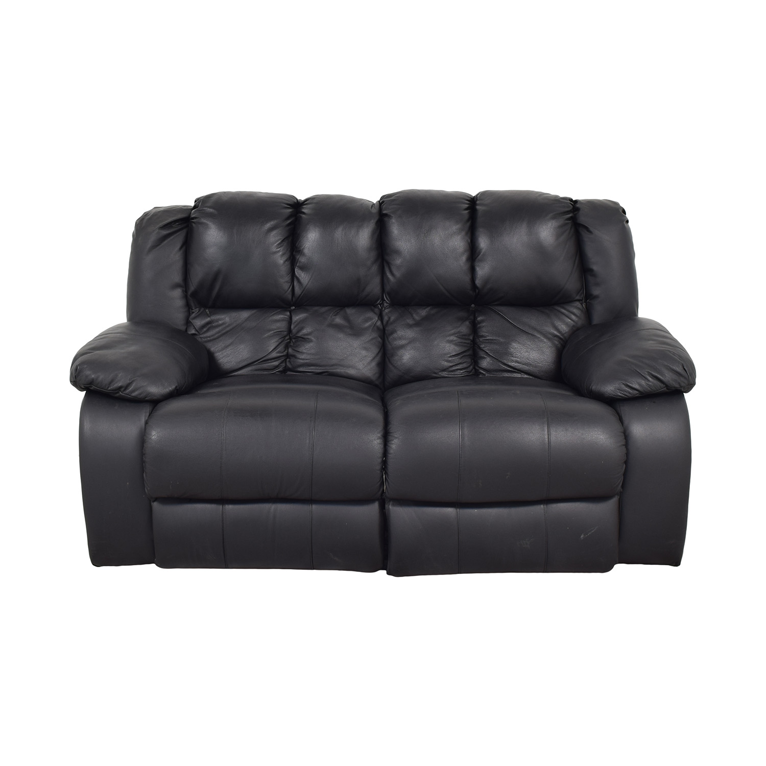 Berkline Reclining Love Seat sale