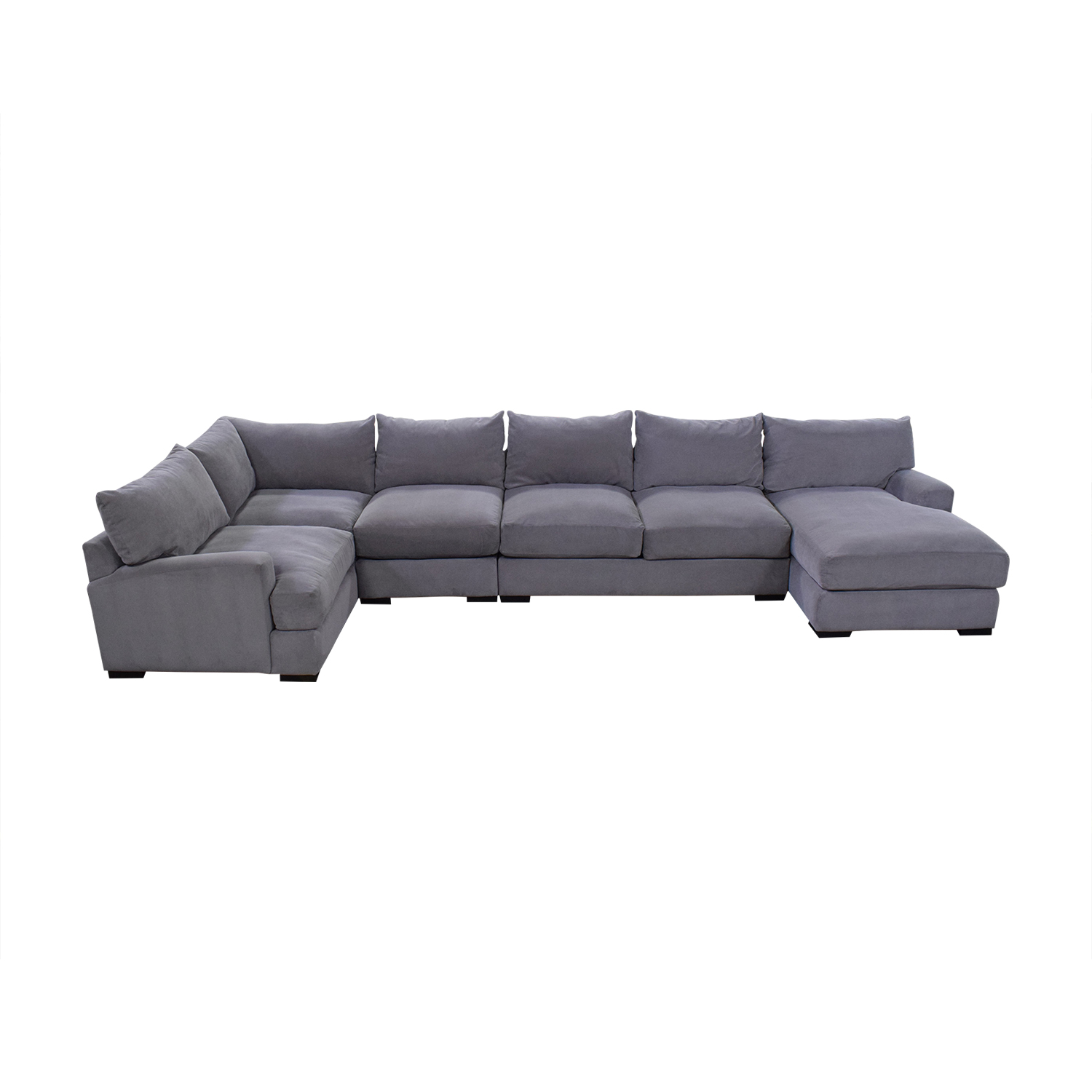 buy Macy's Rhyder 5 Piece Fabric Sectional Sofa with Chaise online