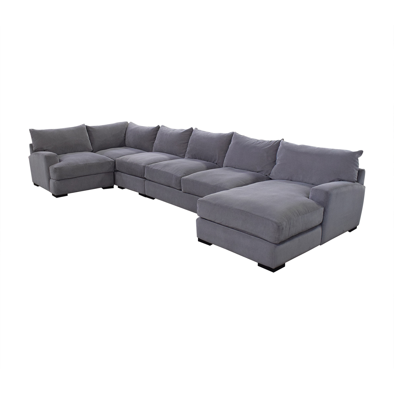 Macy's Rhyder 5 Piece Fabric Sectional Sofa with Chaise on sale