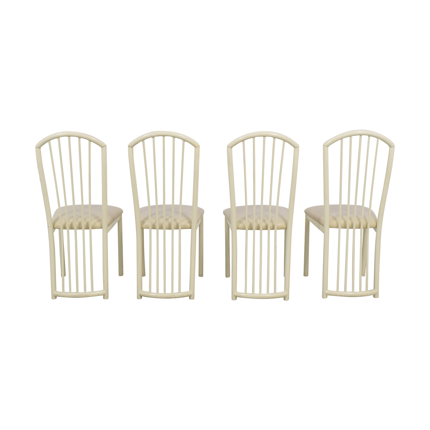 Spindle Back Dining Chairs sale