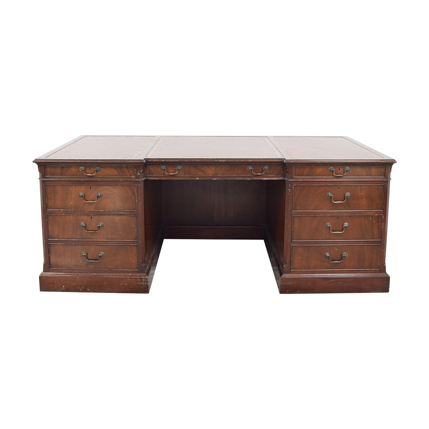 Vintage Executive Desk dimensions
