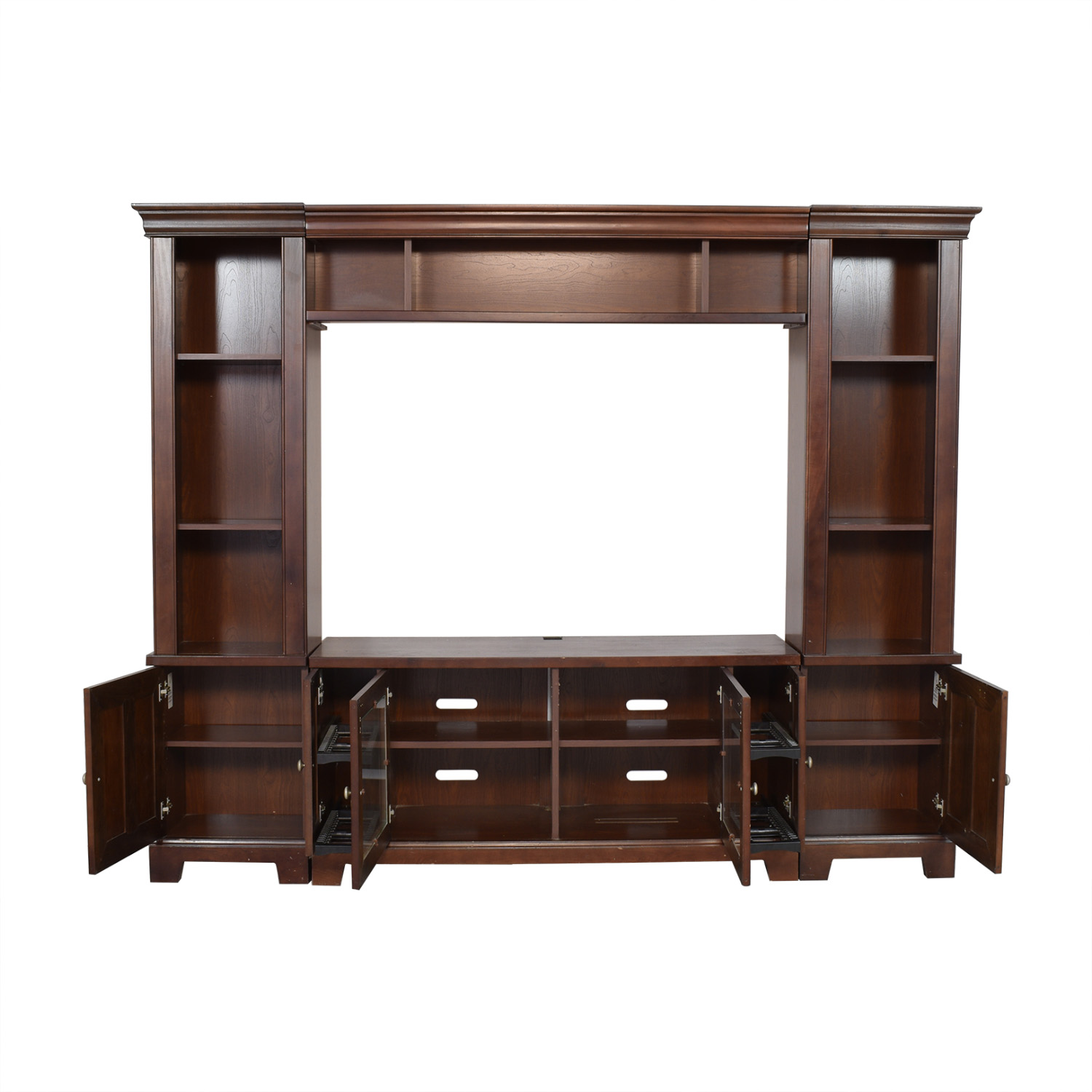 shop Entertainment Center with Cabinets  Media Units