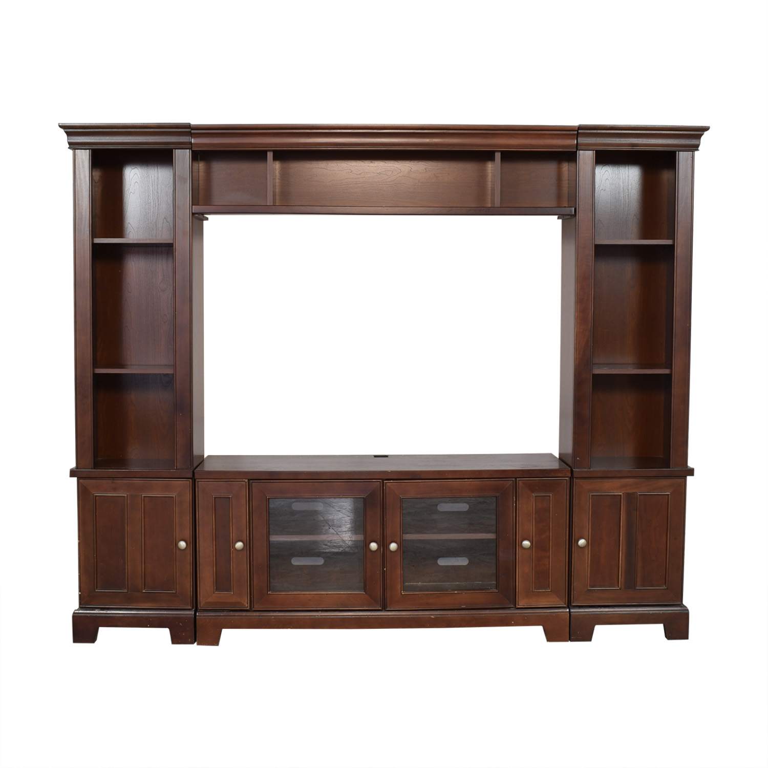 Entertainment Center with Cabinets