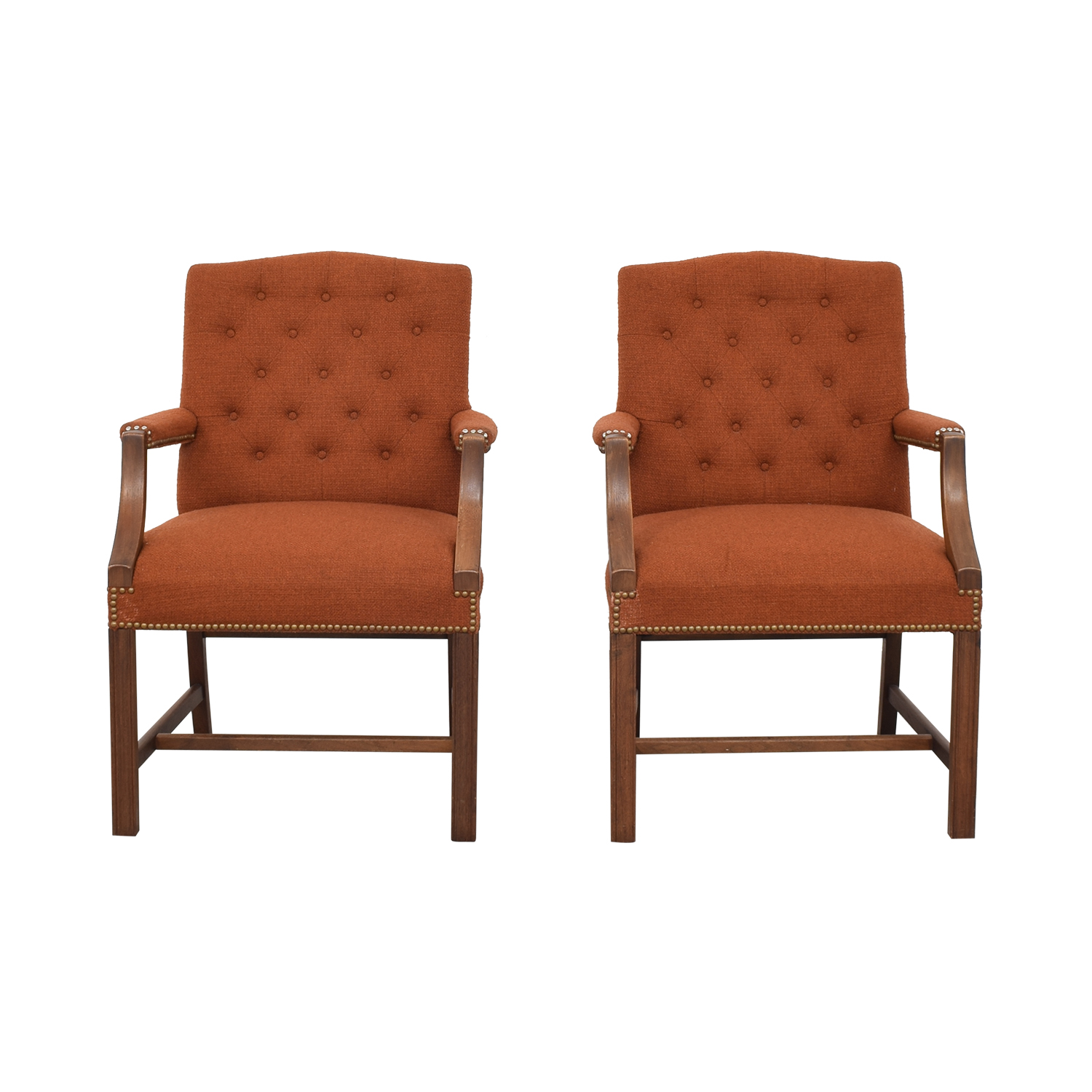 Kimball Kimball Nailhead Arm Chairs discount
