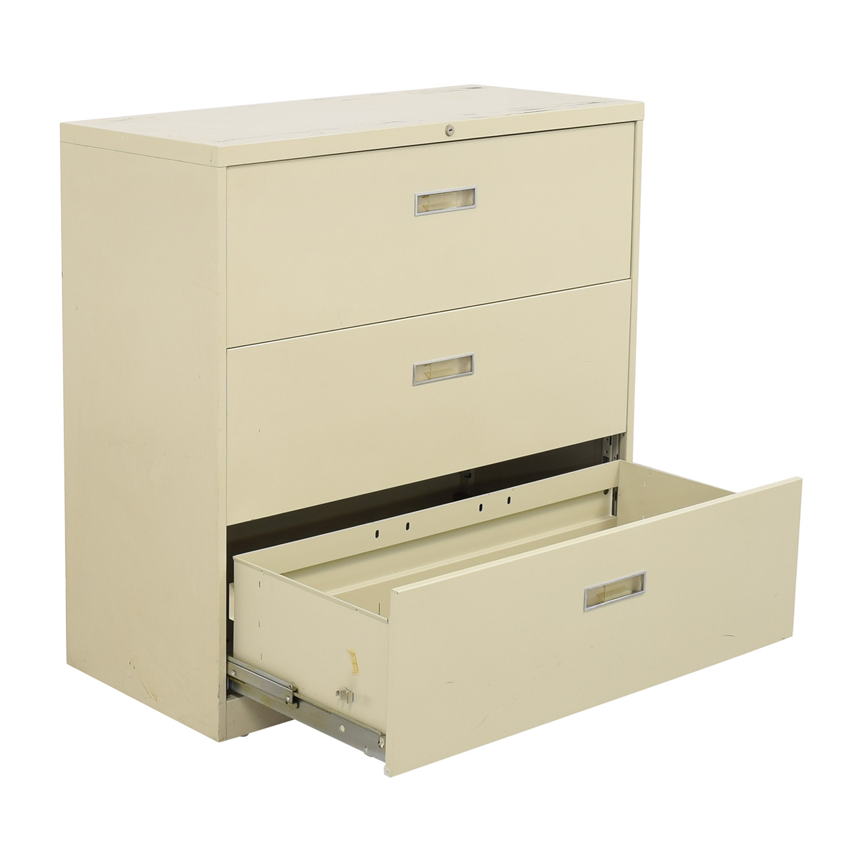 Hon Hon Three Drawer File Cabinet nyc