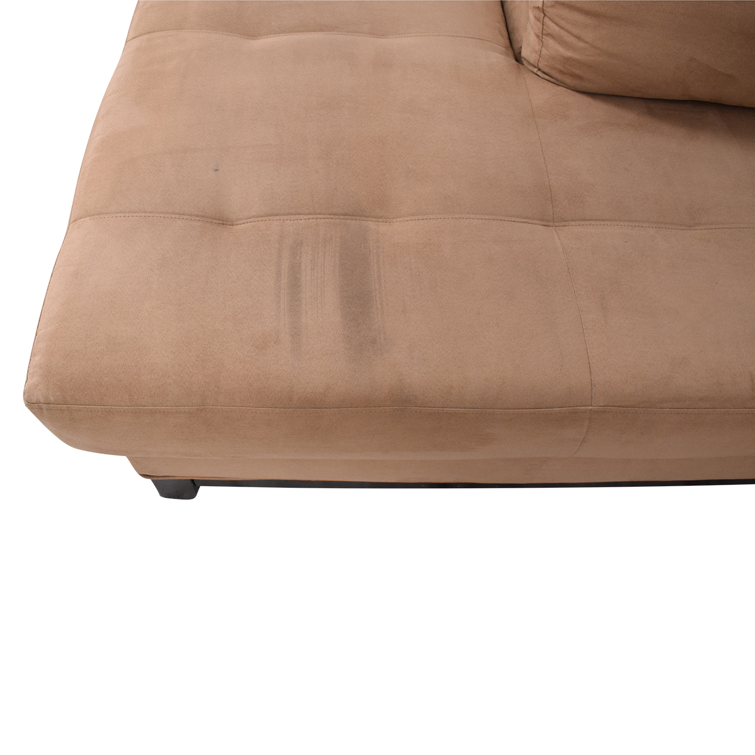 Raymour & Flanigan Two Piece Chaise Sectional Sofa / Sofas