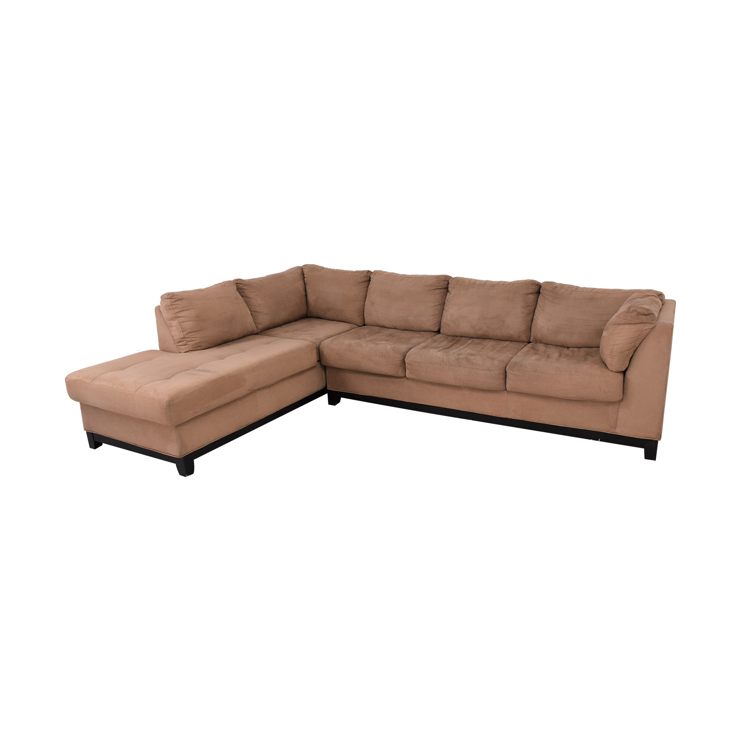 buy Raymour & Flanigan Two Piece Chaise Sectional Sofa Raymour & Flanigan Sectionals