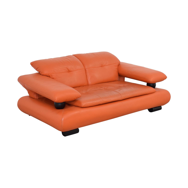 Wei Laishi Wei Laishi Modern Adjustable Loveseat orange