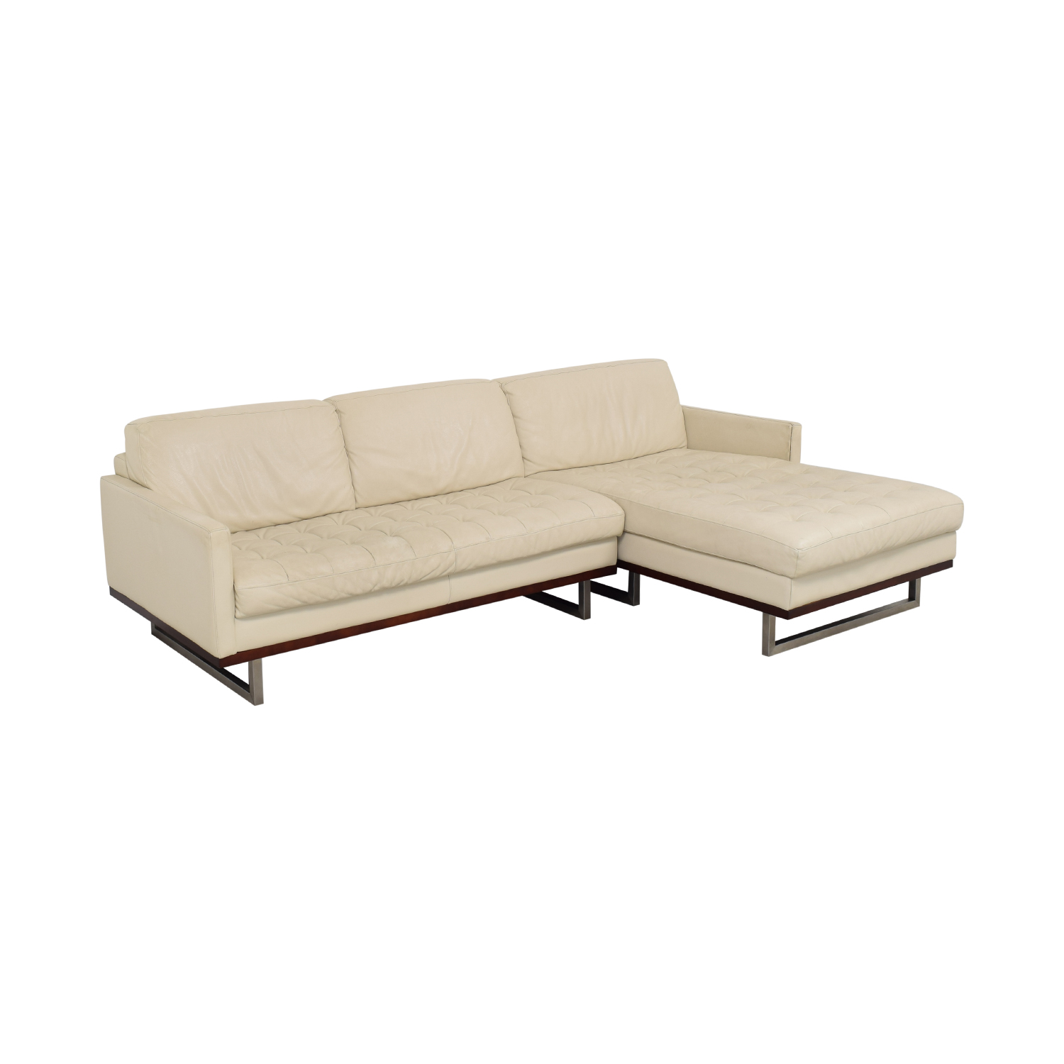 shop American Leather Chaise Sectional Sofa American Leather