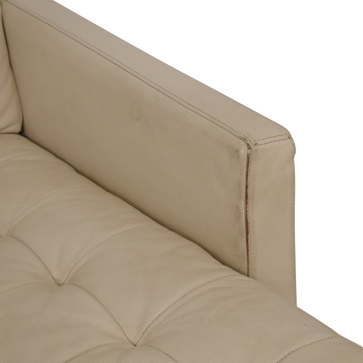 American Leather American Leather Chaise Sectional Sofa coupon