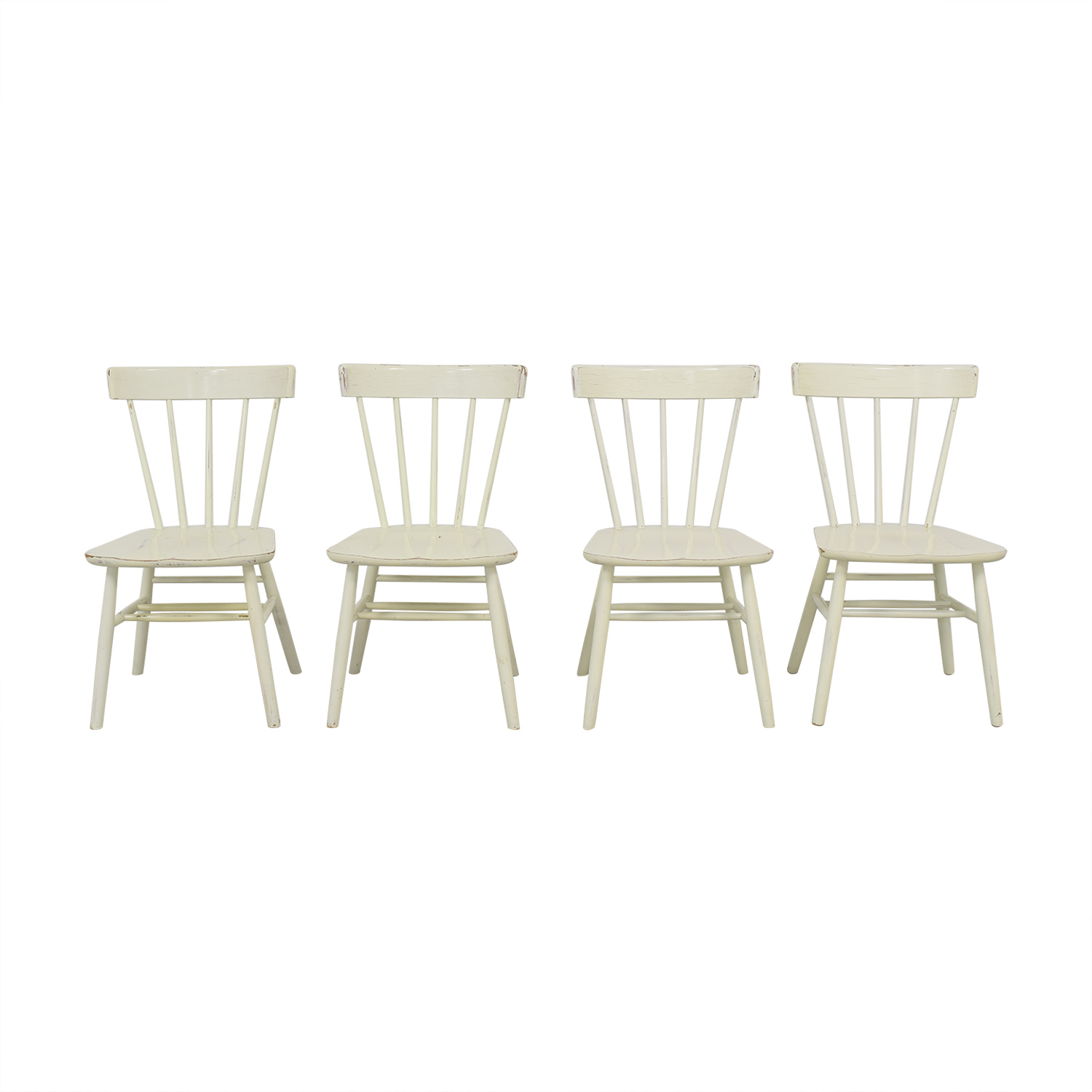 Pottery Barn Pottery Barn Rustic Dining Chairs second hand