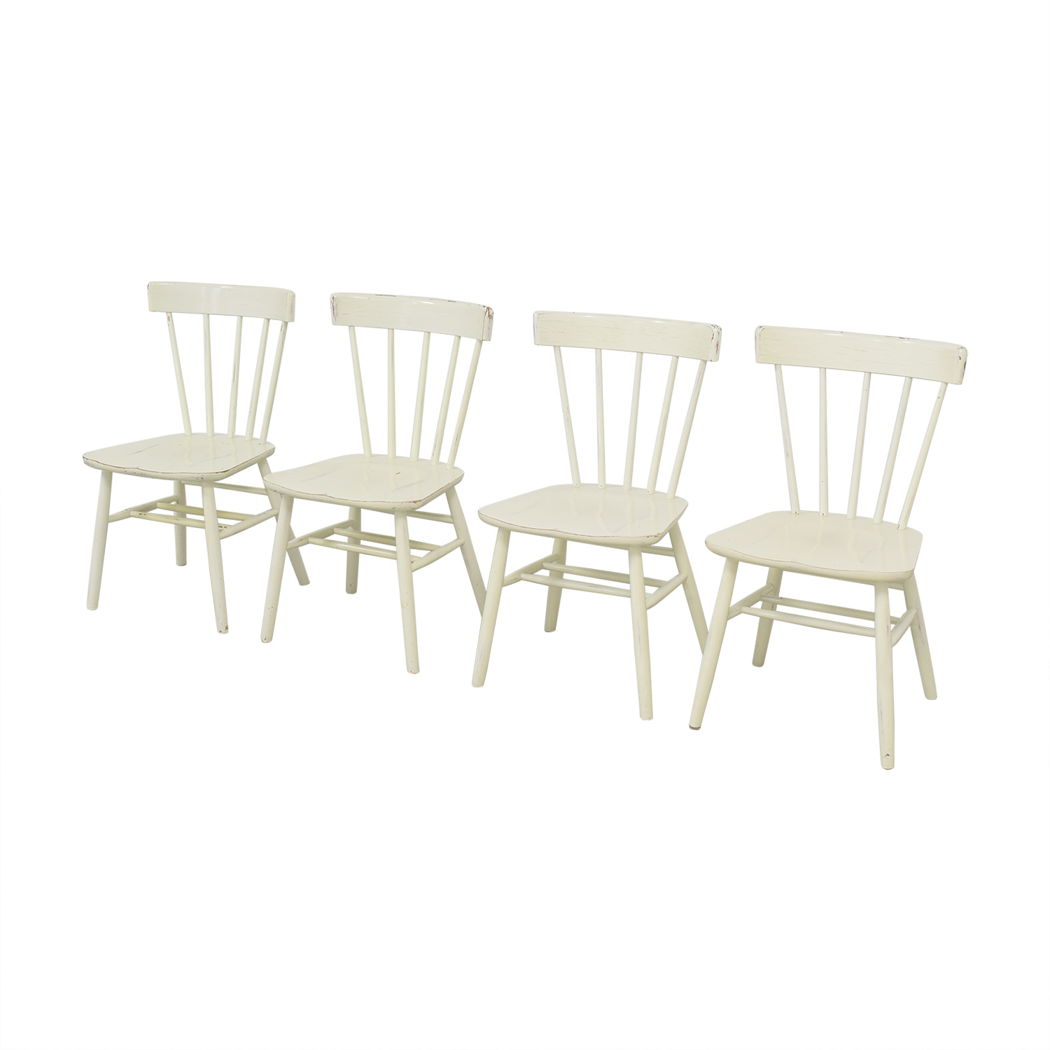 Pottery Barn Pottery Barn Rustic Dining Chairs ct