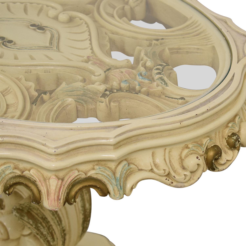 Antique Decorative End Table dimensions