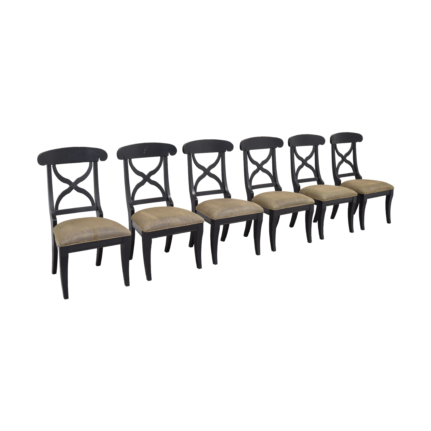 Fortunoff Wooden Dining Chairs sale