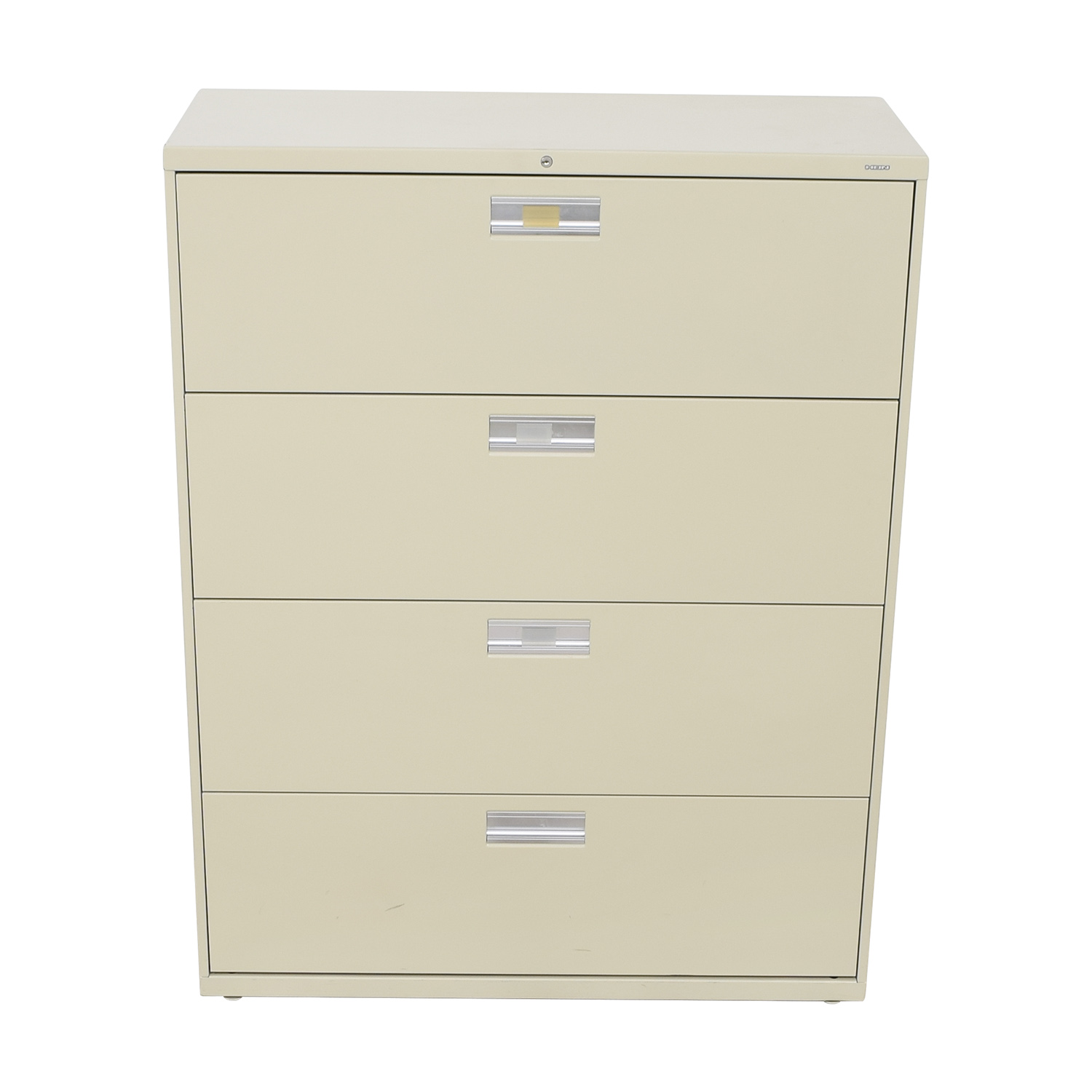 Hon Hon Four Drawer File Cabinet used