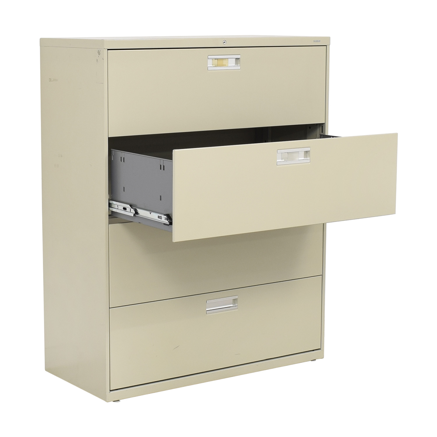Hon Hon Four Drawer File Cabinet Storage