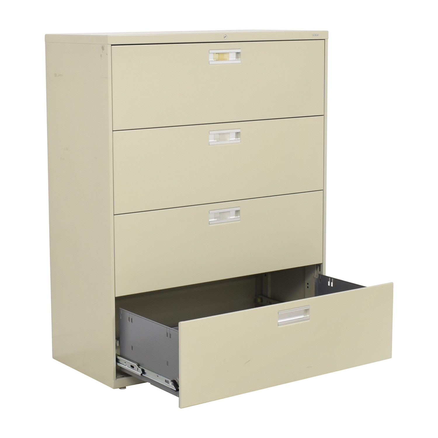 Hon Hon Four Drawer File Cabinet nj