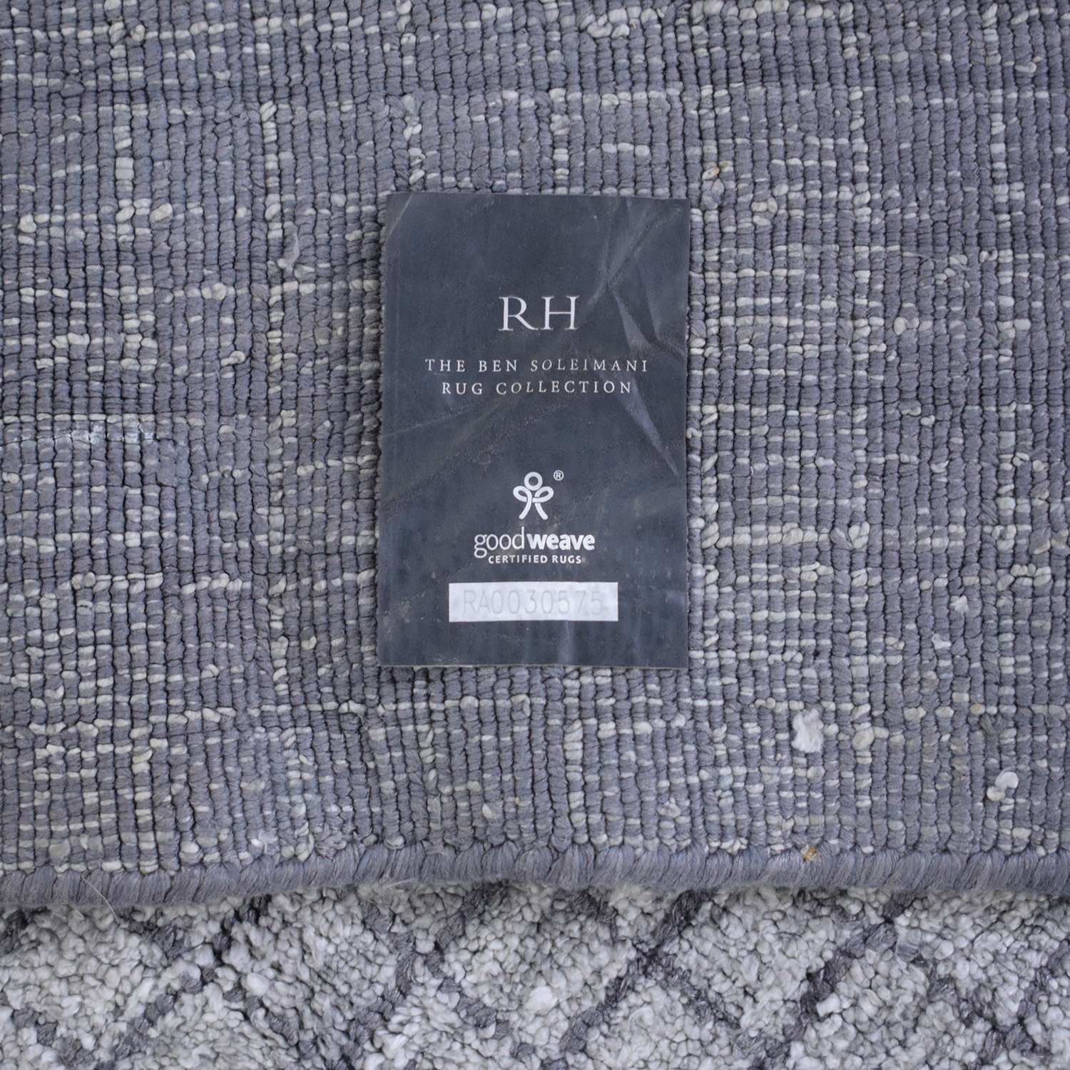 Restoration Hardware Restoration Hardware Ben Soleimani Collection Damas Rug second hand