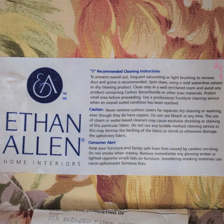 Ethan Allen Ethan Allen Floral Slipcovered Loveseat price