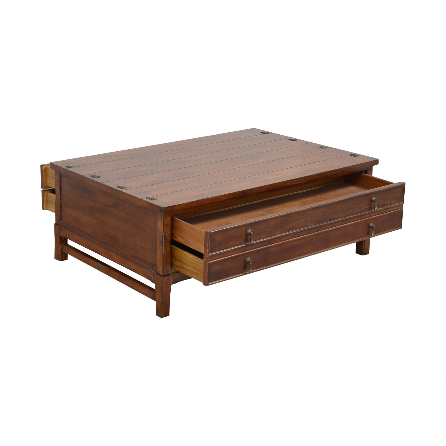 shop Four Drawer Coffee Table