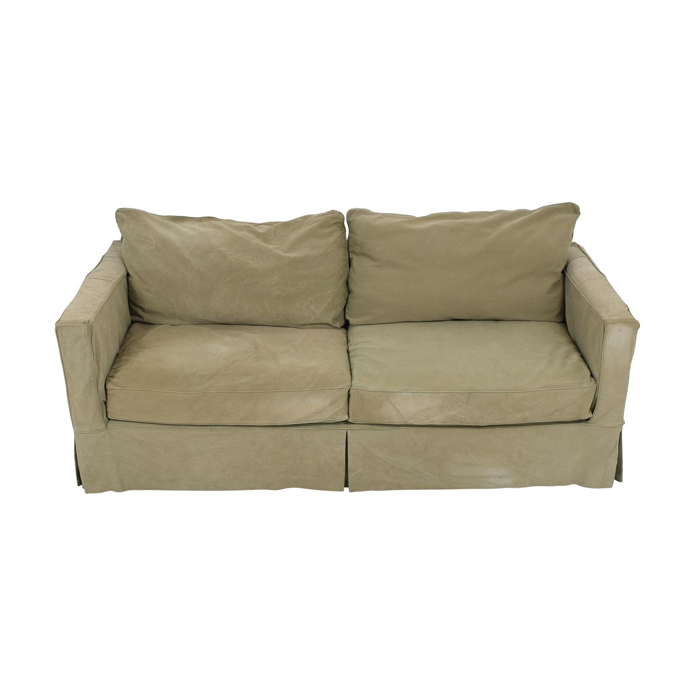 Crate & Barrel Crate & Barrel Willow Slipcover Sofa nj