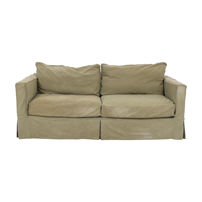 buy Crate & Barrel Willow Slipcover Sofa Crate & Barrel Loveseats