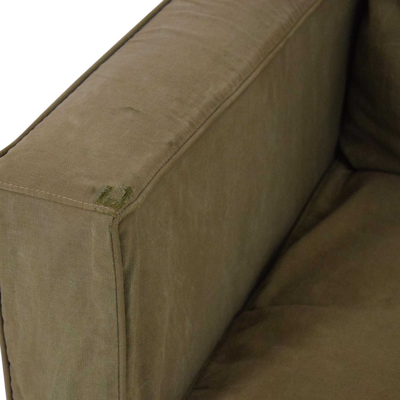 Crate & Barrel Willow Slipcover Sofa / Sofas