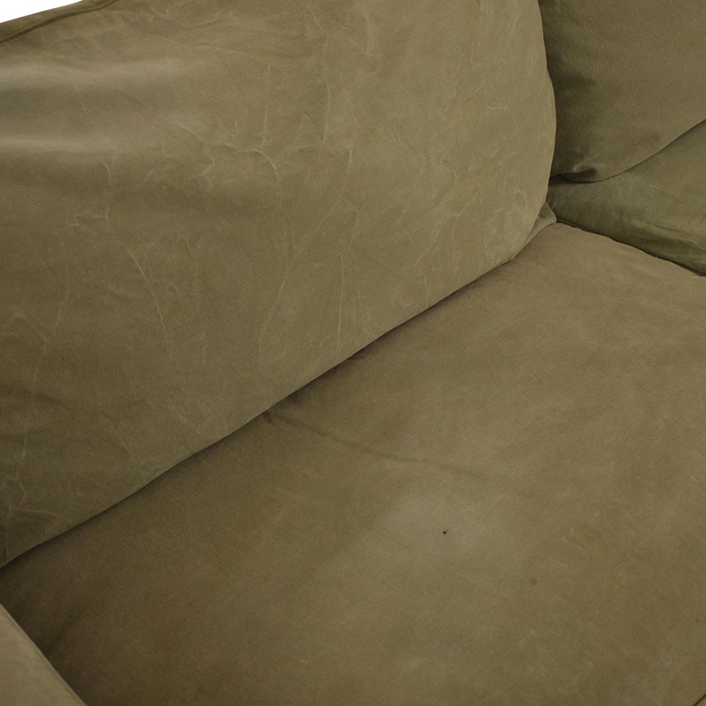 Crate & Barrel Willow Slipcover Sofa / Loveseats