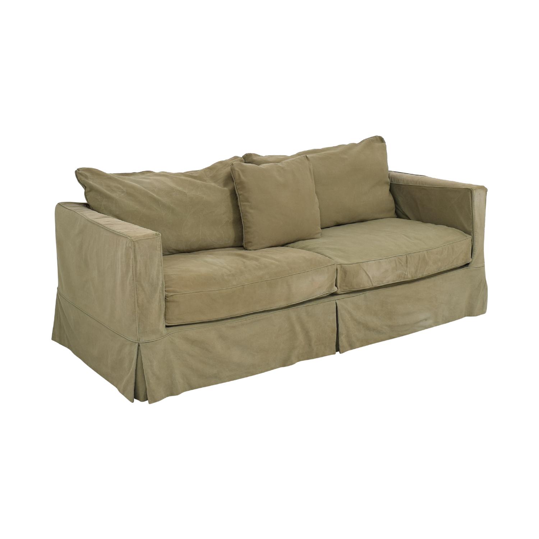 Crate & Barrel Crate & Barrel Willow Slipcover Sofa price