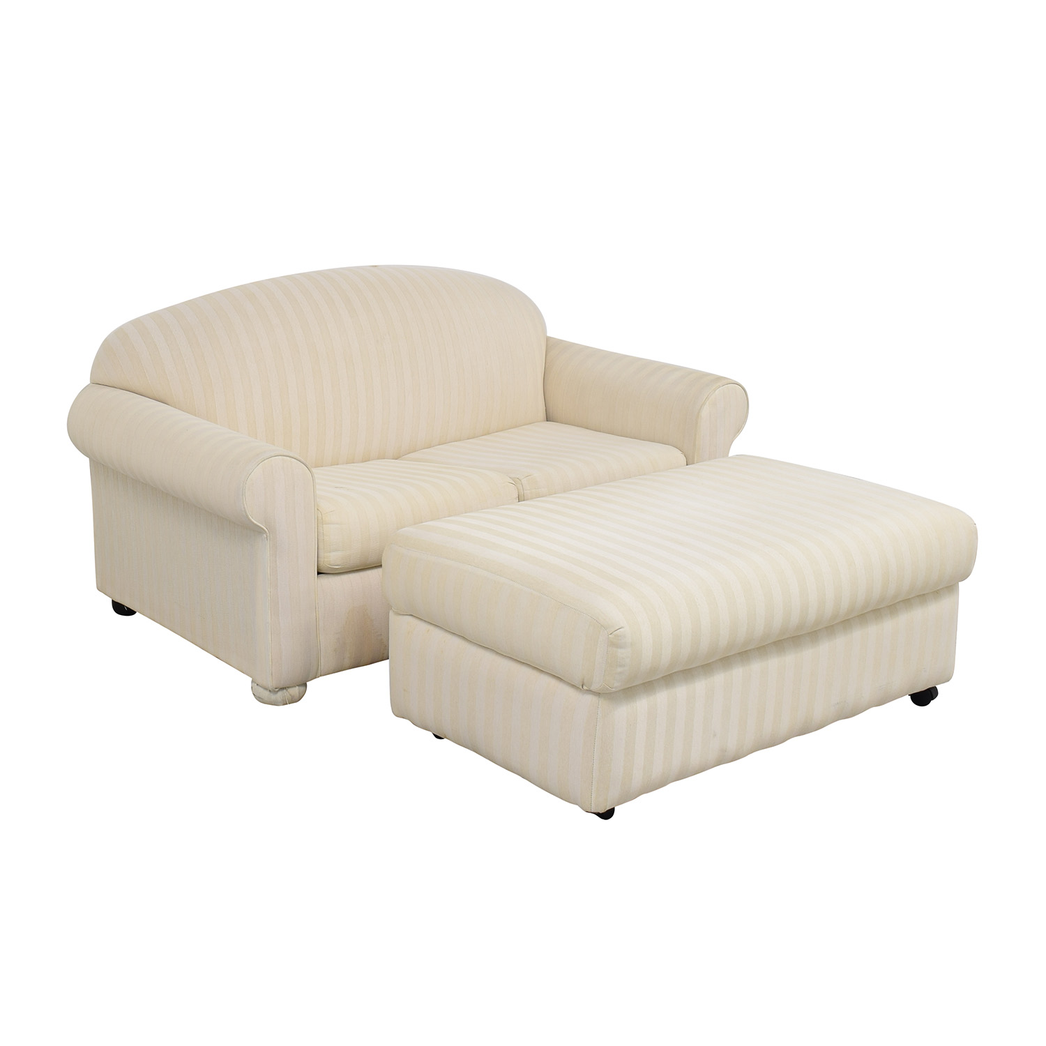 - 85% OFF - La-Z-Boy La-Z-Boy Sofa Sleeper With Ottoman / Sofas