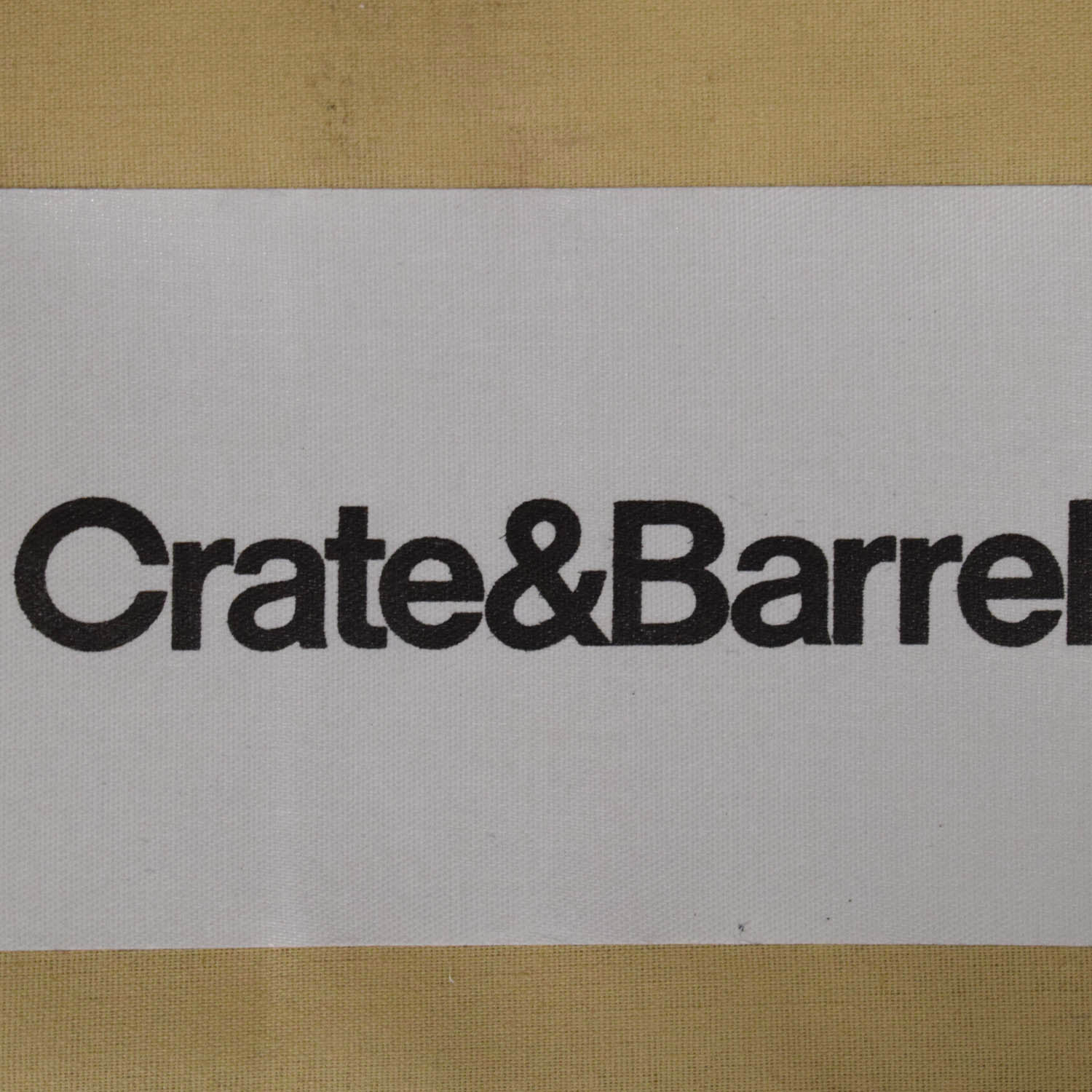 Crate & Barrel Crate & Barrel Reversible Chaise Sofa nyc