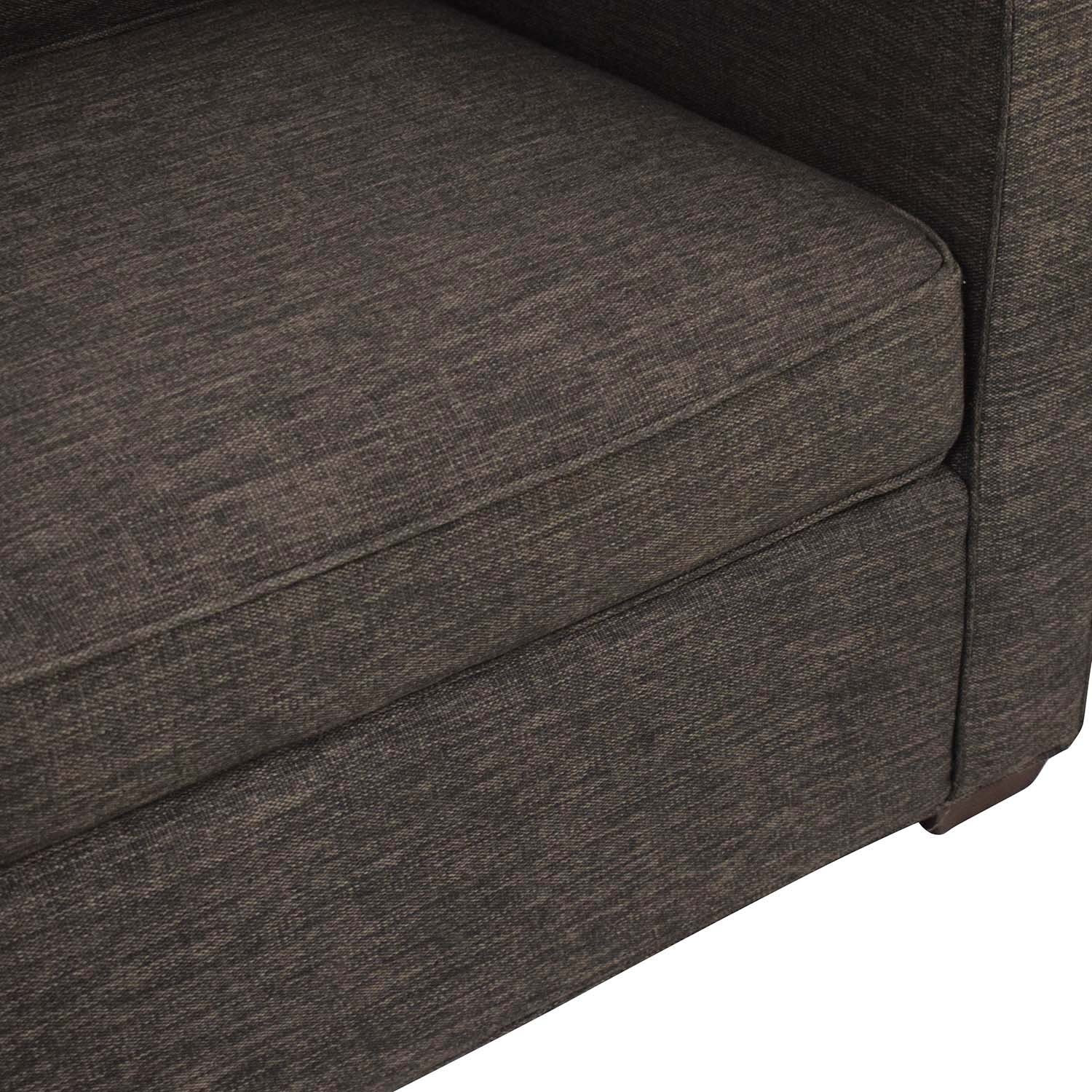 Crate & Barrel Crate & Barrel Reversible Chaise Sofa used