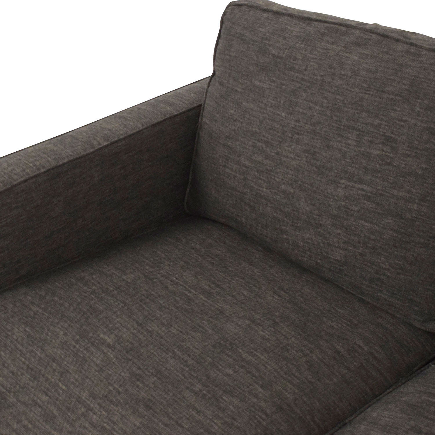 Crate & Barrel Crate & Barrel Reversible Chaise Sofa for sale